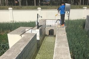 污水处理厂出口水质检测采样